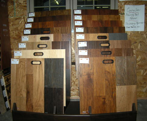 Laminate flooring laminate flooring displays for Laminate flooring displays